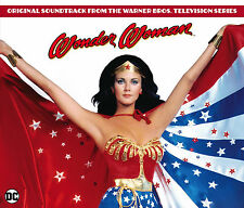 Wonder Woman - 3 x CD Complete Series Boxset - Limited 3000 - Charles Fox