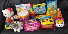 baby toys bundle Fisher price. Little takes. Vtech.  Peppa pig's keyboard