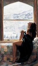 """Steve Hanks, """"On The Warm Side of Winter"""", limited edition print"""