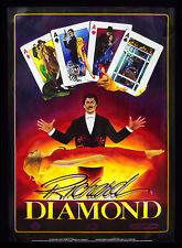 Richard Diamond Illusionist , Magician, Escape Artist, & Stuntman, Magic Poster
