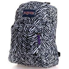 Jansport Zebra SuperBreak Backpack Black White NWT NEW