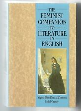 FEMINIST COMPANION TO LITERATURE IN ENGLISH Edited Blain Clements &Grundy SIGNED