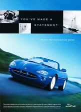 1999 Jaguar Xk8 Convertible Original Classic Advertisement Ad P86