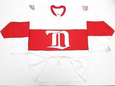 DETROIT RED WINGS AUTHENTIC WHITE WINTER CLASSIC ALUMNI CCM 6100 JERSEY SIZE 52