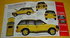 1998 Range Rover Overfinch 570 HSE 330 ci V8 5733cc FI IMP Info/Specs/photo 15x9
