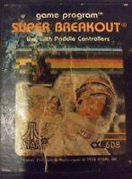Super Breakout Atari 2600, 1981 FREE SHIPPING VINTAGE
