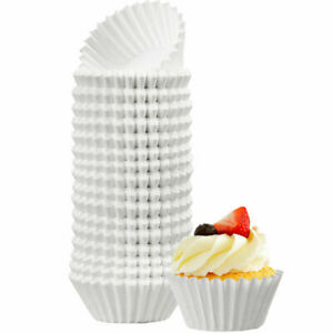 500pc White Cupcake Liners Muffin Liners Wrappers Paper Baking Cups