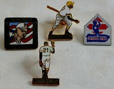 Roberto Clemente Pin . Puerto Rico.lot of 4.