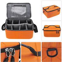 Waterproof Digital DSLR Camera Video Handbag Shoulder Bag Case For Canon Nikon