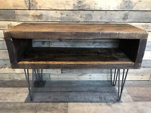 Bespoke rustic tv stand
