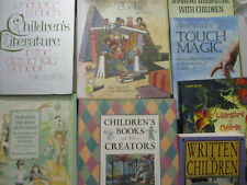 Children's Book Lot History Authors Cultural Aspects Bibliophile Collector