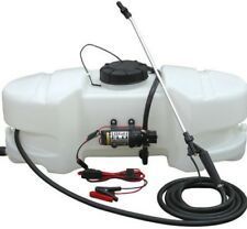 10 Gallon Easy Mount ATV UTV Tractor Spot Sprayer 1 GPM Pump 12V 25 FT Spray