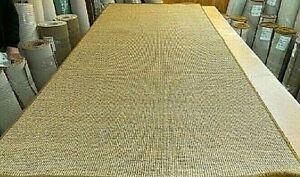 SISAL ECO FRIENDLY NATURAL WHIPPED MAT CARPET RUG/RUNNER 110cm x 250cm RRP £220