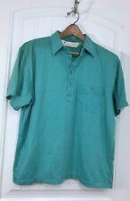 Arnold Palmer | Vintage Golf Shirt | Green | Blend | 4 Button | Collar | M