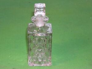 Fostoria American Square Cologne / Perfume Bottle