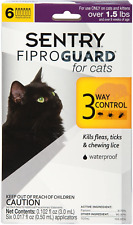 Doses Flea Tick Lice Treatment Drops Topical Medicine For Cats And Kittens
