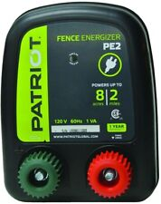 Patriot Fence Energizer Fencing Electric 0.10 Joule Agriculture Livestock Animal