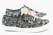 0f28d297cd Vans Authentic Slim Chambray Mens Size 8.5 Retro Floral Skate Shoes