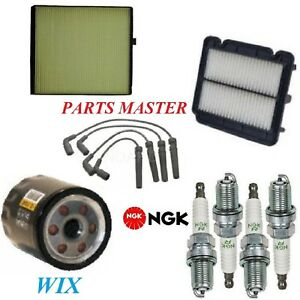 Tune Up Kit Filters Spark Plugs For CHEVROLET AVEO5 L4 1.6L 2006, 2008