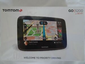 TomTom Go 5200 with Wifi Sealed