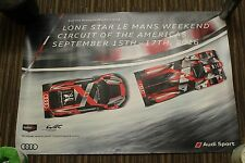 2016 Imsa Wec Cota Lone Star Le Mans Audi R18 Lmp1 R8 Poster