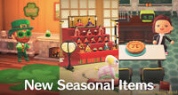 Saint Patrick's Day Update - All Items Animal Crossing:New Horizons + Gifts
