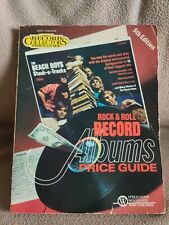 Rock & Roll Record Albums Price Guides 5th Edition 1983