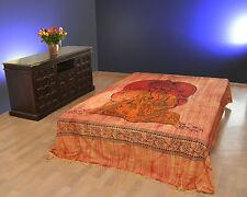 Tages-decke Ganesh Wandbehang Bettüberwurf Sofaüberwurf Indien Goa Ganesha Yoga