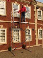 DIY Aluminium Scaffold/scaffolding tower/towers/platform 5m reach height