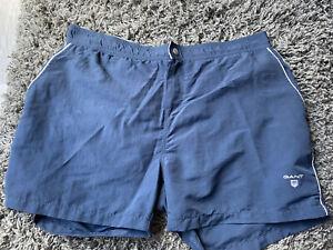 Gant Mens Navy Blue Swim Shorts - Size XL