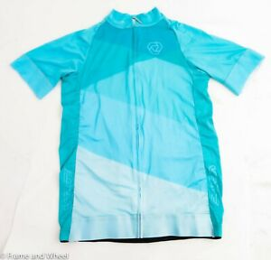 Womens VERGE Cycle JERSEY Shirt  Size SMALL Poly Spandex COLONIAL BICYCLE CO