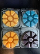 Lot of 4 New PartyLite Scent Plus Melts Black Raspberry Sea Blossom Blue Sky