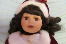 Vanessa Ricardi Special Edition Genuine Porcelain Doll W/Tag