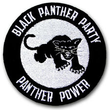 Logo as the same in wiki Black Panther Party Patch Peace Power Freedom  Emblem 35680a60a5d3