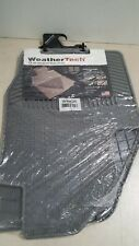 WeatherTech Floor Mat W43GR - 2nd Row Rear  - Gray