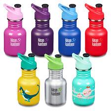 Klean Kanteen 12oz, 355ml Classic Kids Spill Proof Drink Bottle with Sports Cap