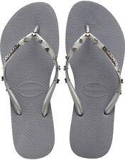 Womens Havaianas Hardware Grey Size 6/7
