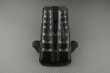 Feu arrière stop LED fumé clignotants intégrés Suzuki SV SVS 650 2003-2011