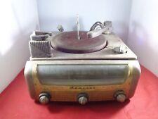 Antique Retro 1952 Admiral Drawer Unit Record Player Radio - For Parts or Repair