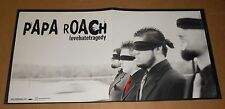 Papa Roach Love Hate Tragedy Poster 2-Sided Flat Square 2002 Promo 12x24 Rare