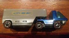 Hot Wheels Redline Heavyweights 1969 Hong Kong Van Lines Truck Blue