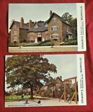 Vintage England Postcards, Cadbury's Cocoa and Chocolate Works (lot of 2)