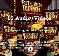 CD - Bitcoin Rush - 12 Audio Books + Bonus eBooks