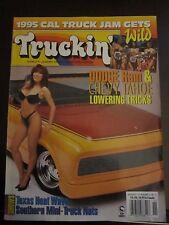 Truckin' Magazine November 1995 Dodge Ram Chevy Tahoe Lowering Tricks AT
