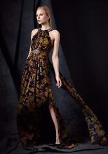 Pamella Roland  Halter Printed-Silk Gown Sz 6 - $3595