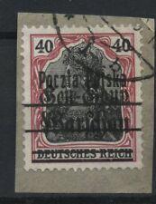 Polen 1919 Fischer Nr 15 Fehldruck B3 (L unten)