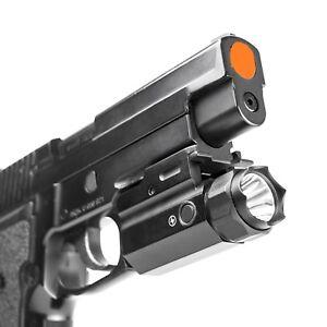 NEW NcStar 3W 150 Lumen LED Quick Release FlashLight w Strobe All Size Pistols