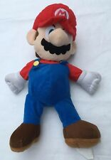Super Mario Brother Plumber Plush Stuffed Pouch Pocket Zipper Large Video Game