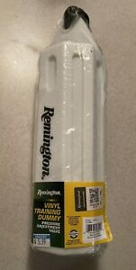 "NEW Remington Dog Vinyl Training Dummy With Pressure Adjustment Valve 3""x12"""