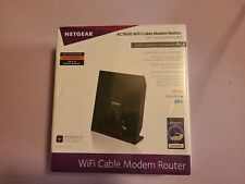 Netgear AC1600 (16x4) WiFi Cable Modem Router Brand New Sealed. C6250 MODEL